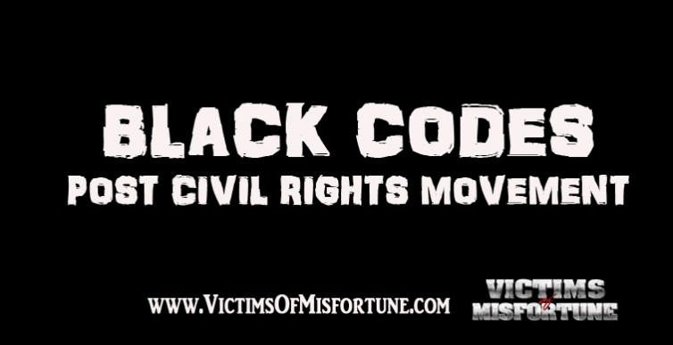 Black Codes Post Image