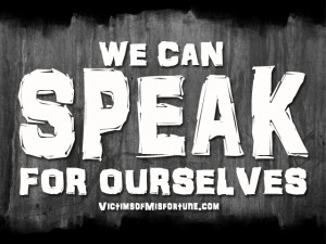 We Can Speak For Ourselves Image